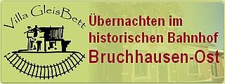 Villa-Gleisbett Banner